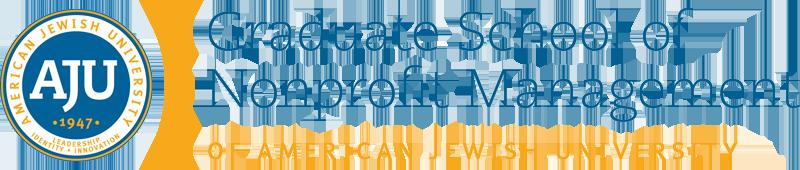 Graduate School of Nonprofit Management of American Jewish University